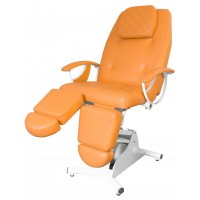 Педикюрное косметологическое кресло «Надин» (электропривод, 1 мотор) (высота 530 - 800мм)